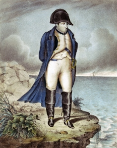 Portrait of Napoleon in exile. Credit: © Thinkstock