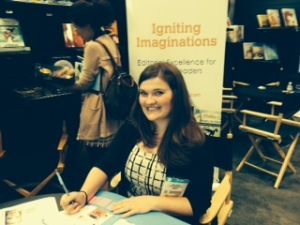 Erica Bruns at BEA
