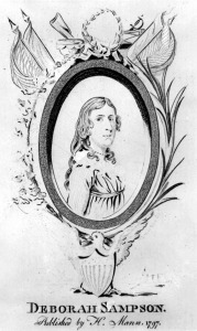 Deborah Sampson, woman who served in the American Revolution while disguised as a man, born, 1760. (December 17)