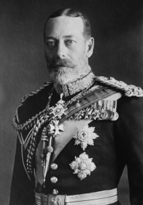 King George V Portrait. Credit: Library of Congress