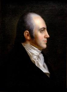 Portrait of Aaron Burr by John Vanderlyn,1802. © Alamy Images