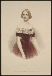 Jenny Lind, Swedish singer, born 1820 (Oct. 6)