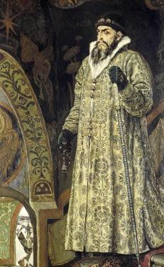 Viktor Vasnetsov Czar Ivan the Terrible State Tretyakov Gallery Moscow