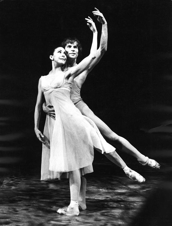 Ballet dancers Rudolf Nureyev & Margot Fonteyn dan